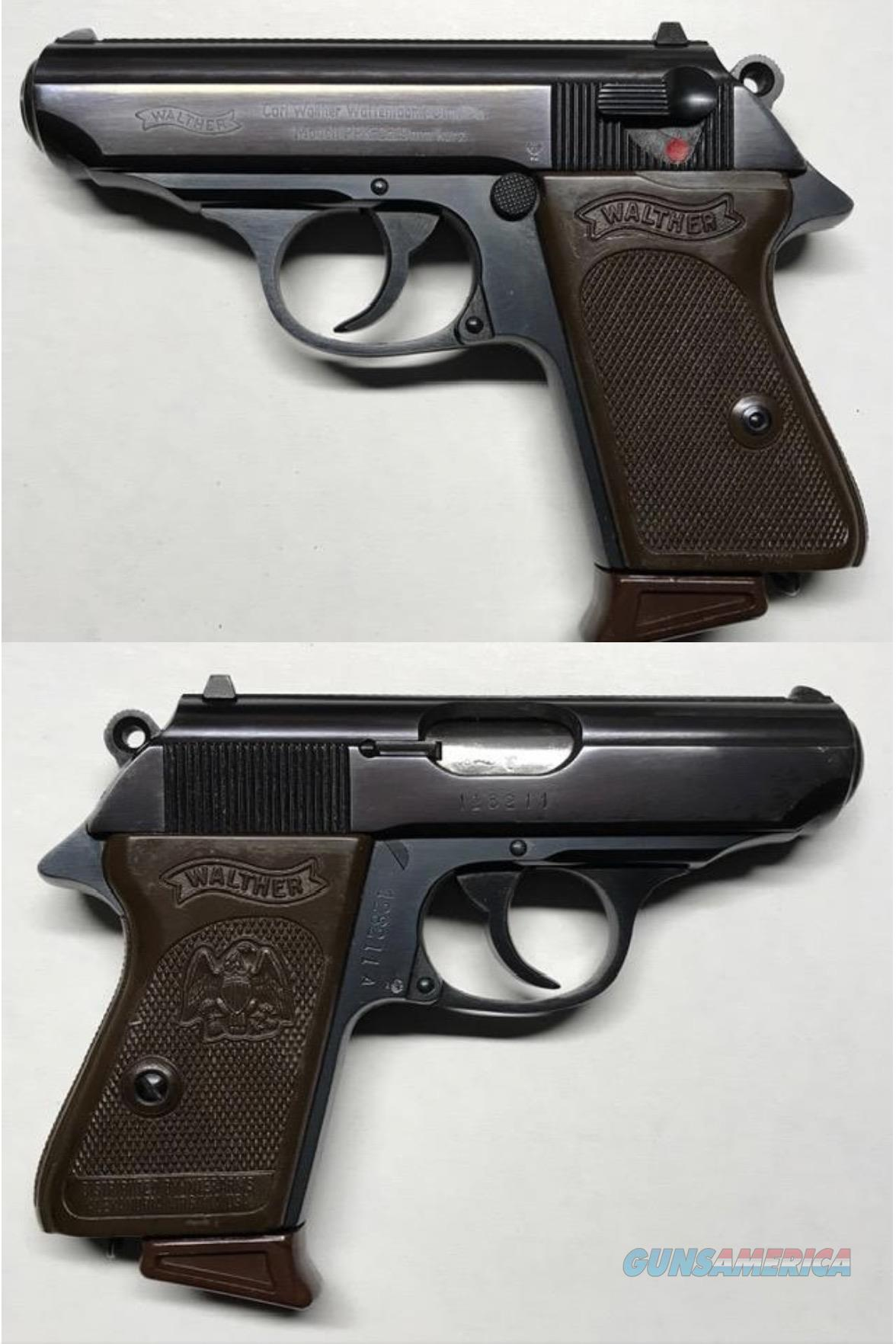 German Walther PPK 9mmK (.380) Curio & Relic Mfg. 1968  Guns > Pistols > Walther Pistols > Post WWII > PPK Series