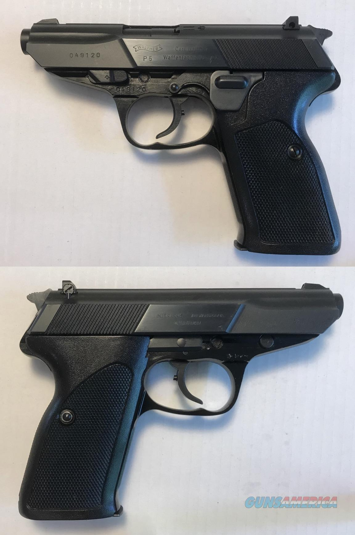 Walther P5 Commerical Model not Police Trade In  Guns > Pistols > Walther Pistols > Post WWII > P5