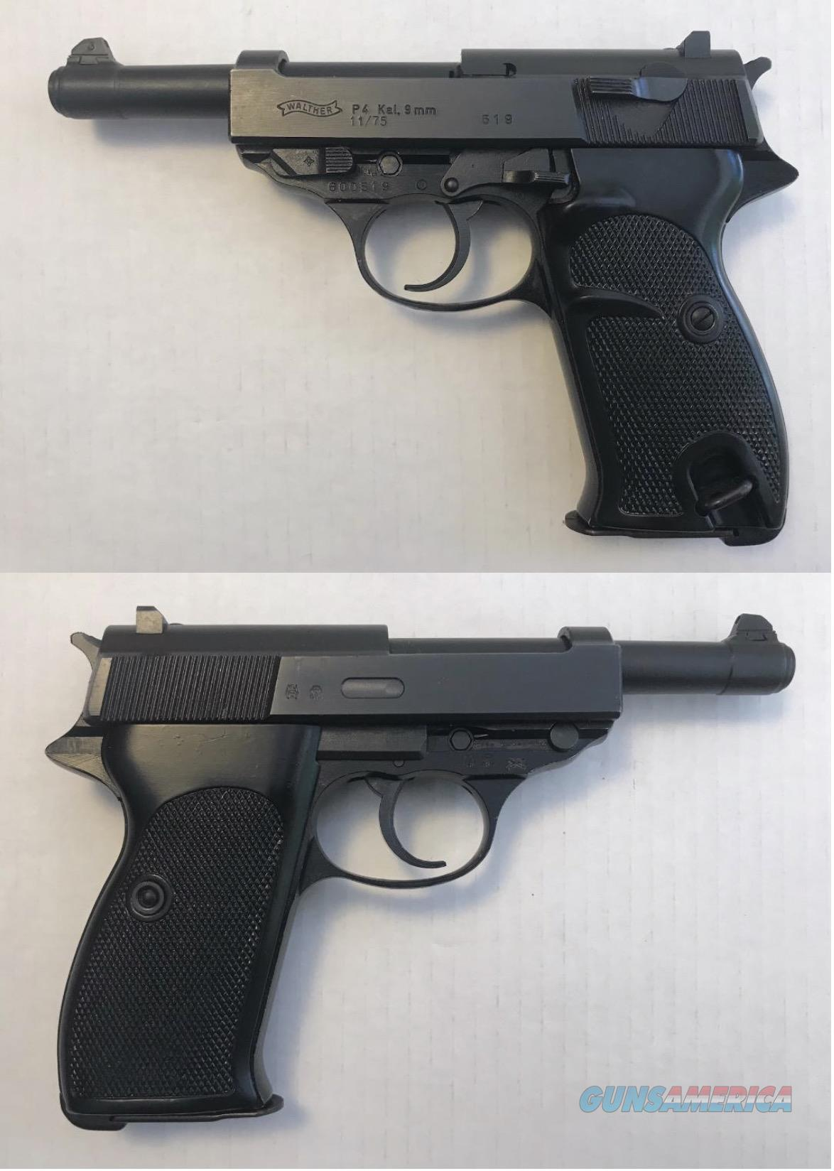Walther Model P4 9mm  Guns > Pistols > Walther Pistols > Post WWII > P38