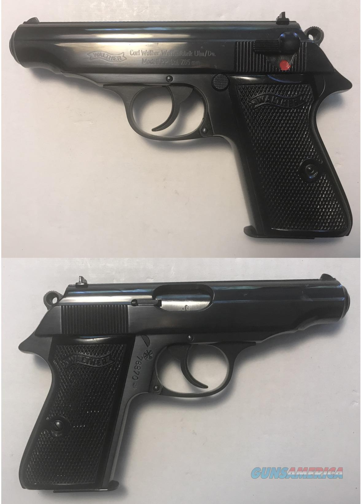 German Walther PP 7.65mm .32acp Mfg. 1958-59 Curio & Relic  Guns > Pistols > Walther Pistols > Post WWII > PPK Series
