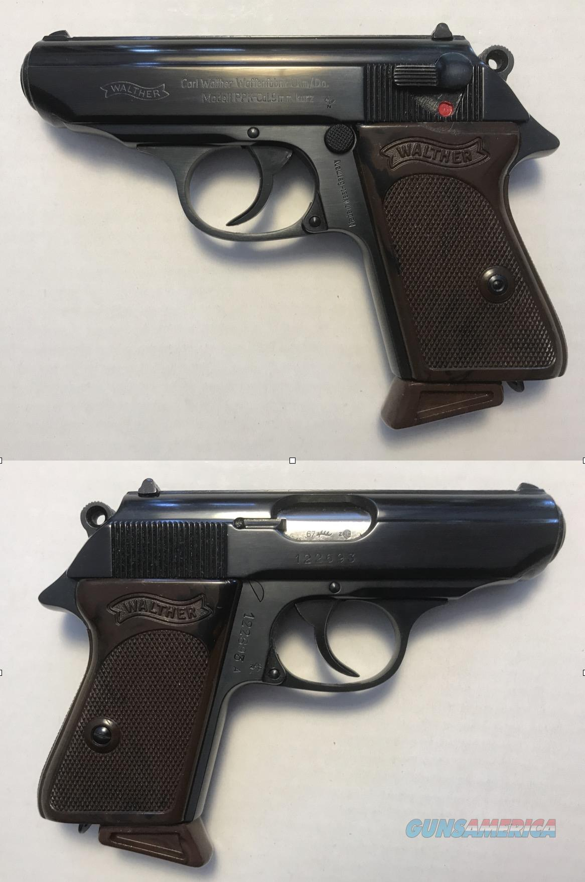 German Walther PPK 9mmK (.380) C&R Mfg. 1967  Guns > Pistols > Walther Pistols > Post WWII > PPK Series