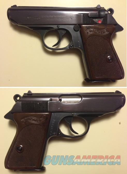 German Walther PPK .22LR Mfg. 1967 C&R  Guns > Pistols > Walther Pistols > Post WWII > PPK Series