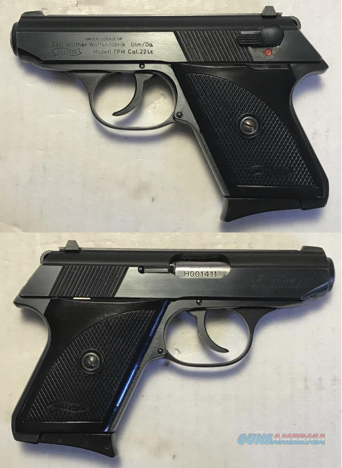 Walther TPH .22LR Blue all Steel  Guns > Pistols > Walther Pistols > Post WWII > PPK Series