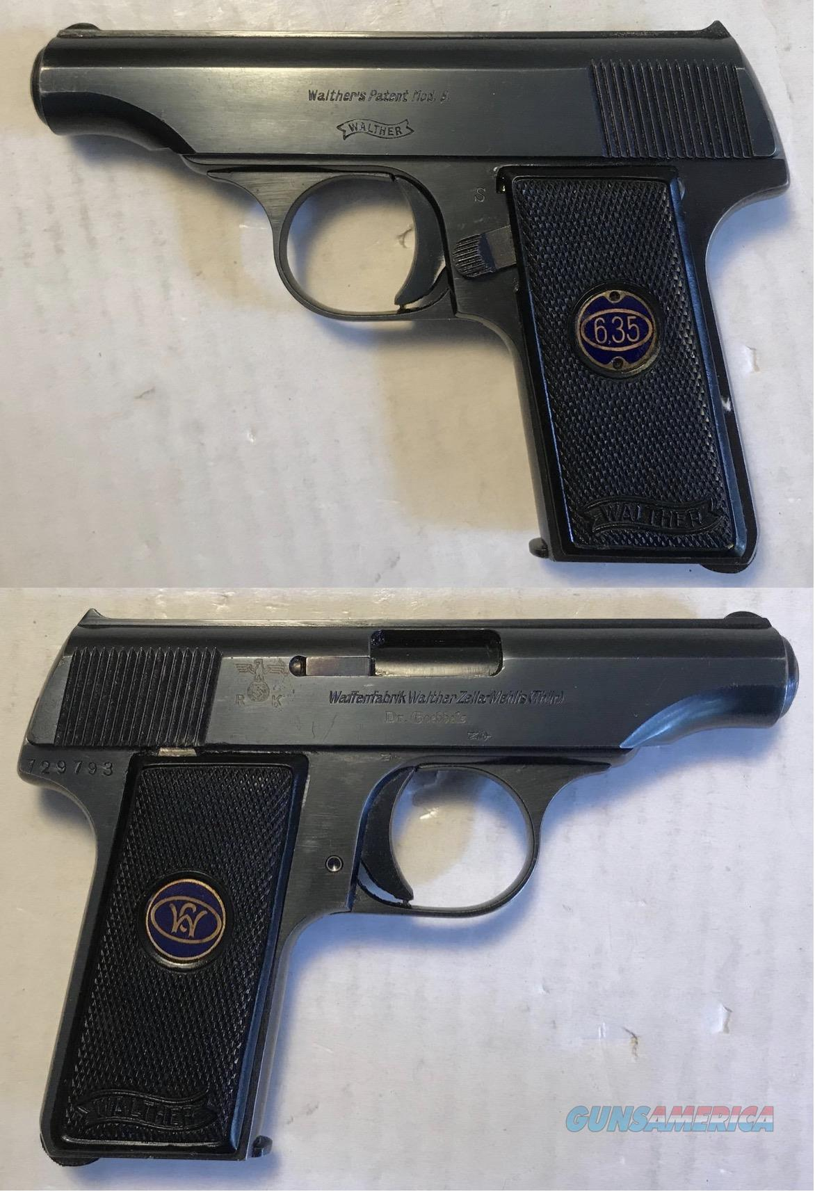 Walther Model 8 Dr. Goebbels personal sidearm C&R  Guns > Pistols > Walther Pistols > Pre-1945 > Other