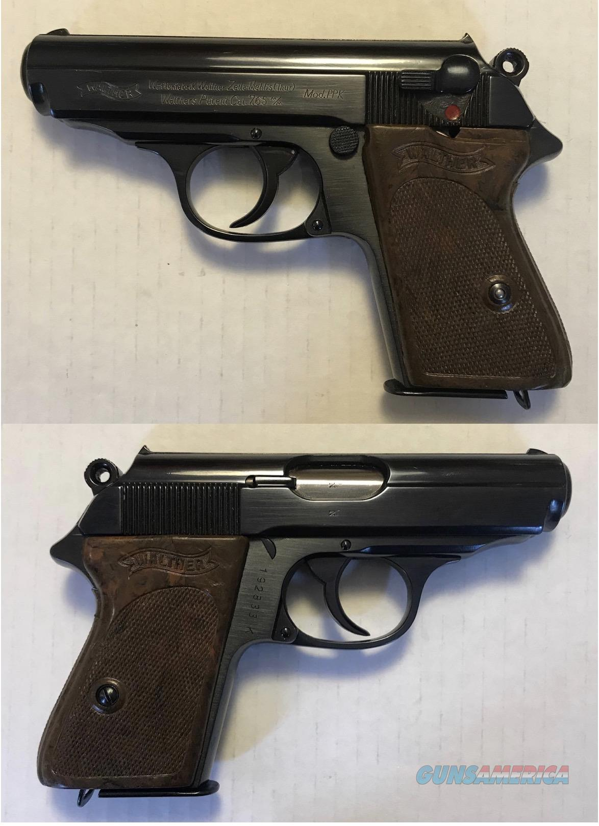 German Walther PPK 7.65mm .32acp pre 1945 C&R  Guns > Pistols > Walther Pistols > Pre-1945 > PPK