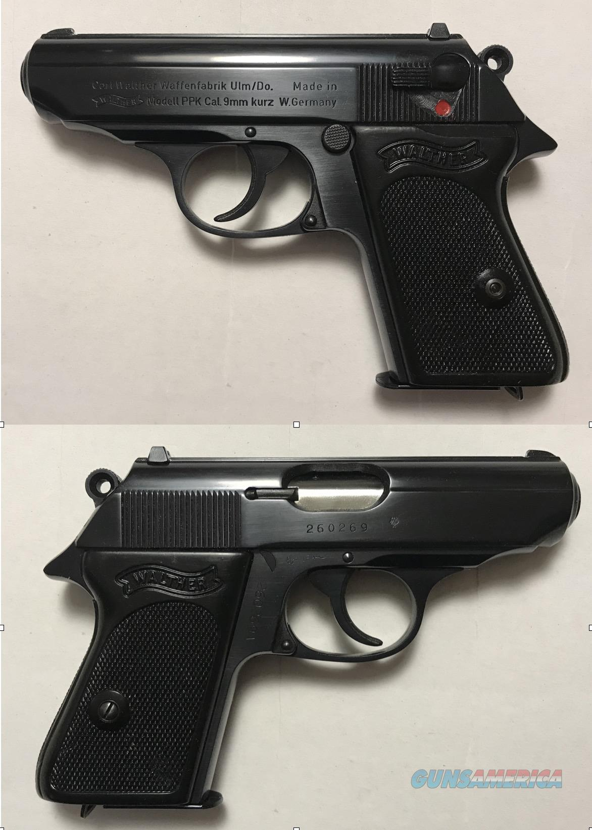German Walther PPK 9mmK (.380acp)   Guns > Pistols > Walther Pistols > Post WWII > PPK Series