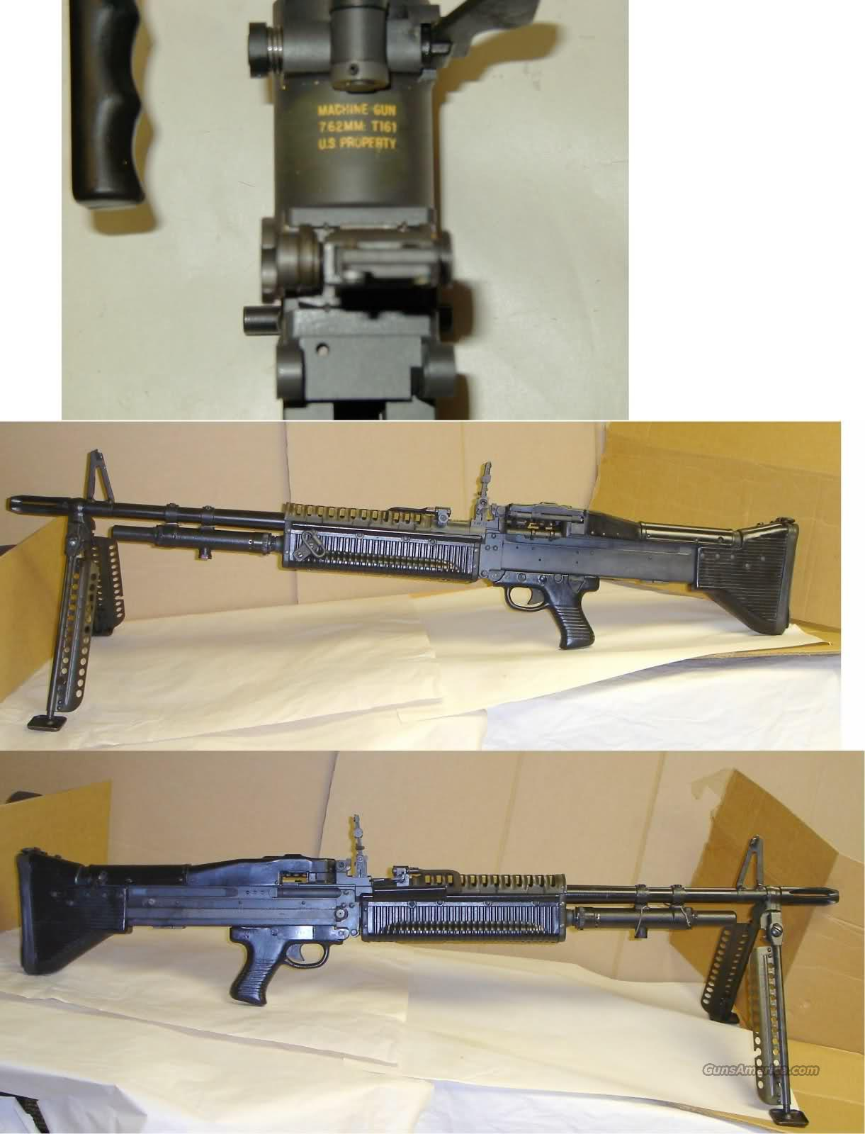 M60 C&R Model T161 Belt Fed MG .308  Guns > Rifles > Class 3 Rifles > Class 3 Subguns