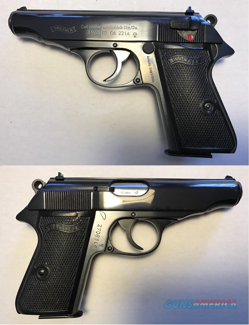 German Walther PP .22LR Mfg. 1967 Curio & Relic  Guns > Pistols > Walther Pistols > Post WWII > PPK Series