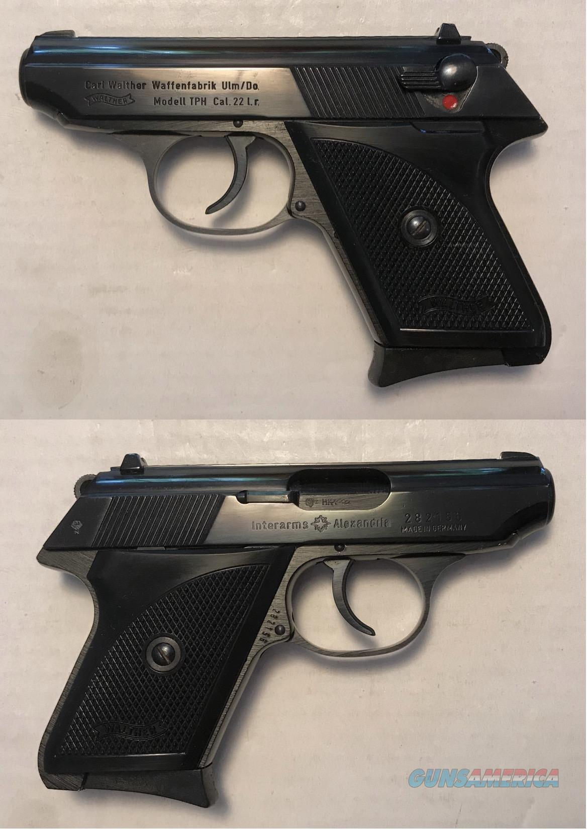 German Walther TPH .22LR C&R  Guns > Pistols > Walther Pistols > Post WWII > PPK Series