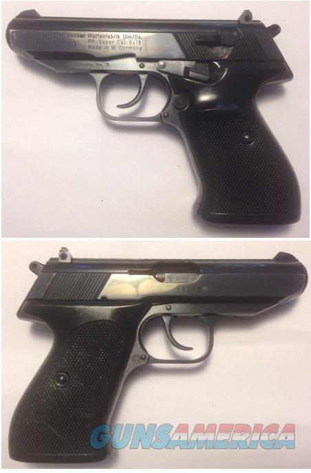 German Walther PP Super 9 x 18 Ultra  Guns > Pistols > Walther Pistols > Post WWII > PPK Series