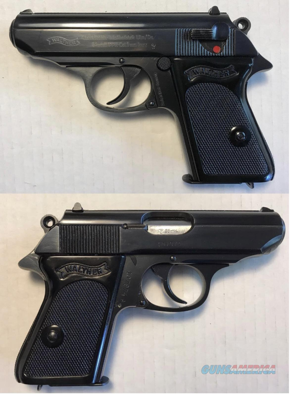 German Walther PPK 9mmK (.380) Curio & Relic Mfg. 1966  Guns > Pistols > Walther Pistols > Post WWII > PPK Series