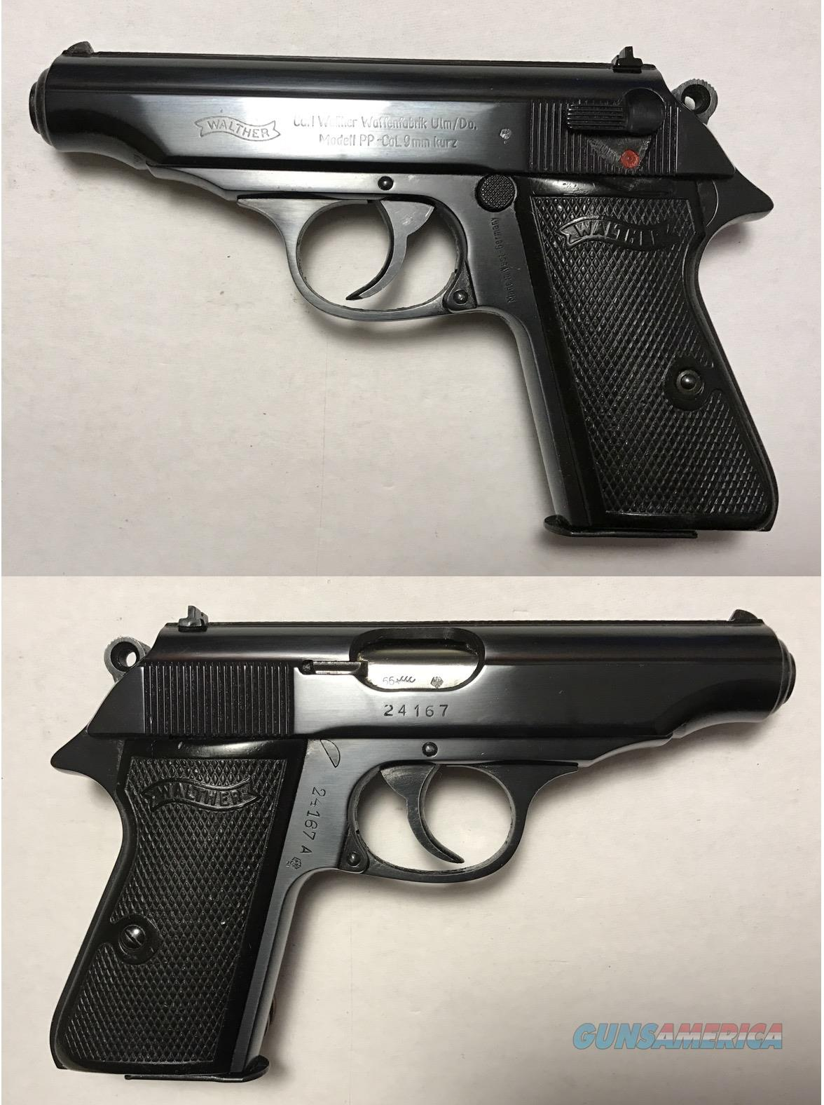 German Walther PP 9mmK .380acp Mfg. 1966 C&R  Guns > Pistols > Walther Pistols > Post WWII > PPK Series