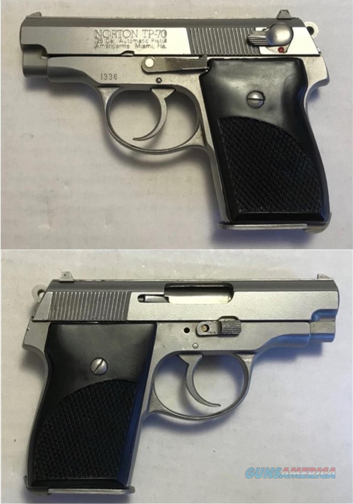 Norton Budischowsky American Arms TP70 - .25acp  Guns > Pistols > American Arms Pistols