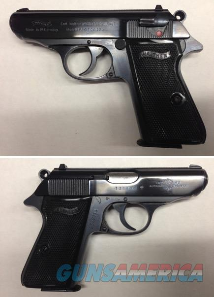 German Walther PPK/S .22LR all steel  Guns > Pistols > Walther Pistols > Post WWII > PPK Series
