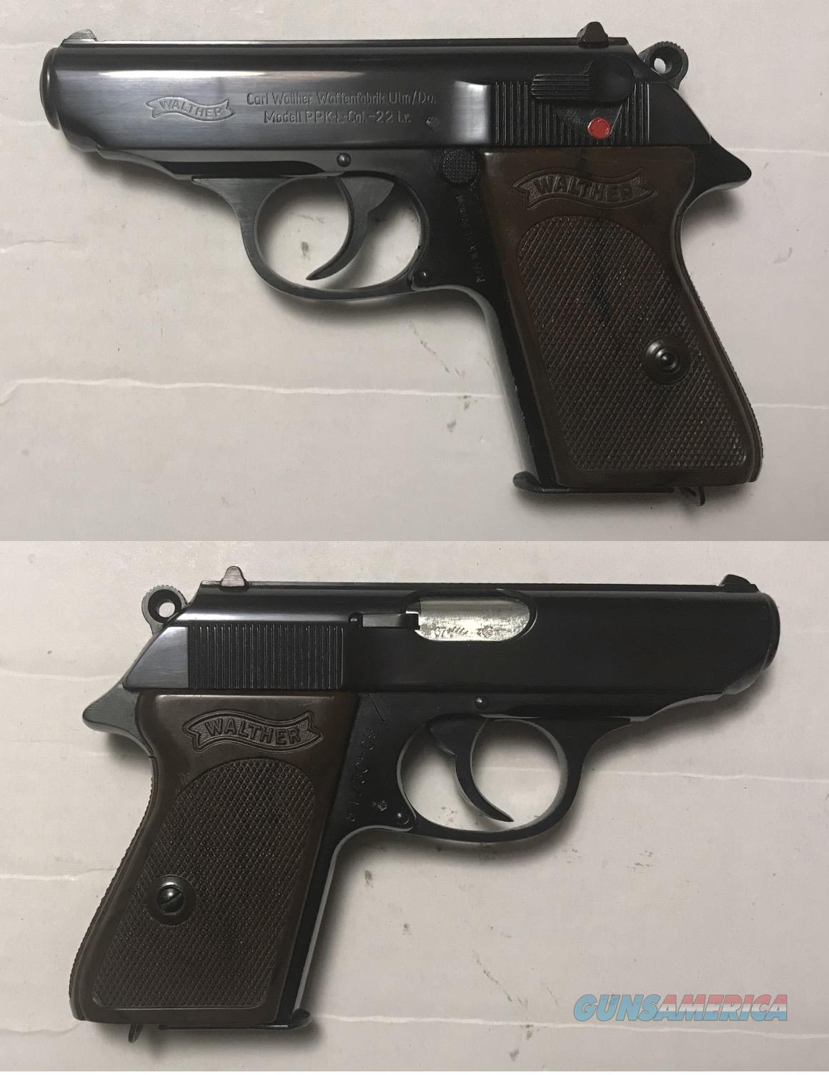 German Walther PPK-L .22LR Manufactured 1967 C&R  Guns > Pistols > Walther Pistols > Post WWII > PPK Series
