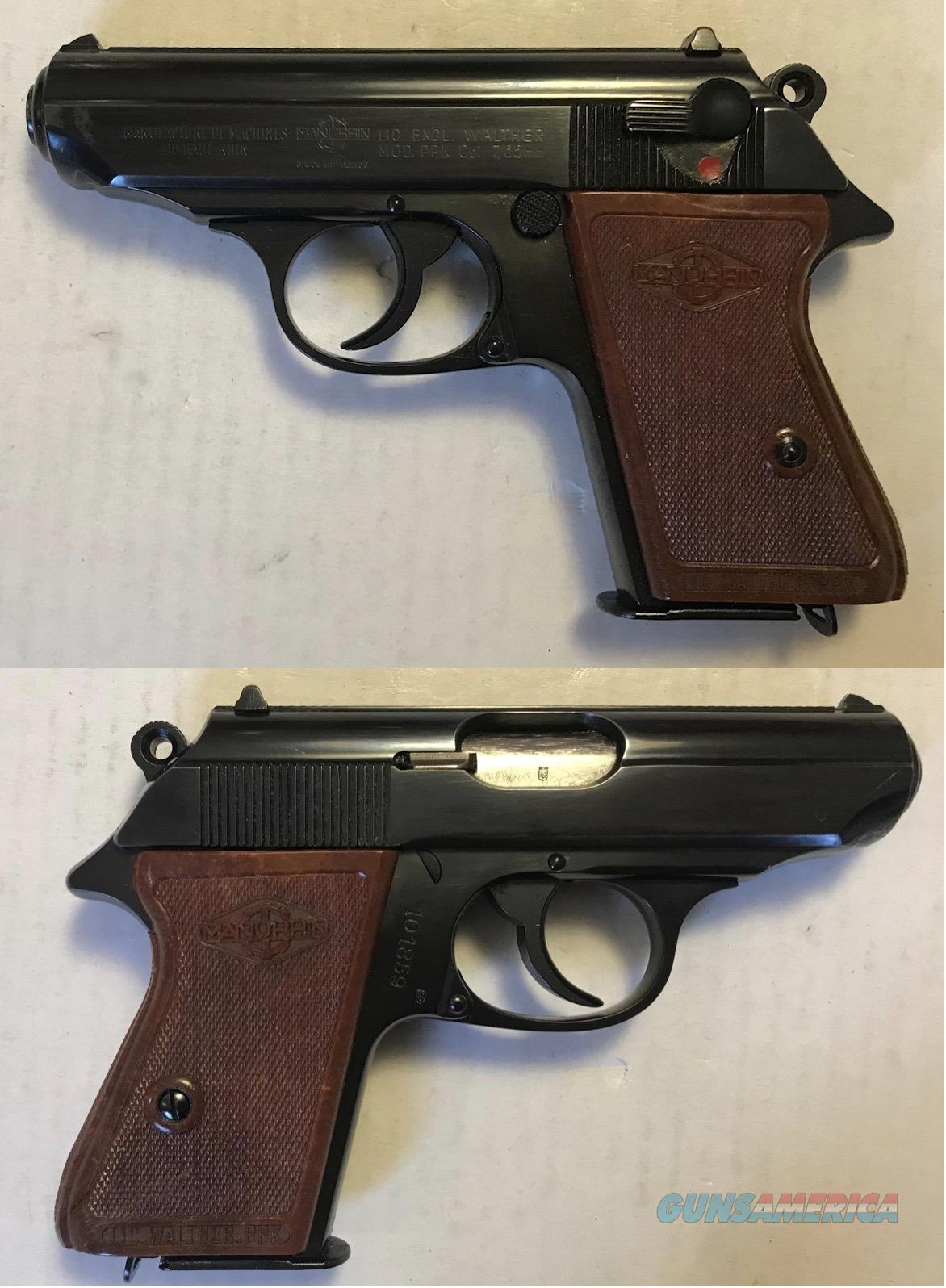 Walther / Manurhin PPK 7.65mm .32ACP C&R  Guns > Pistols > Walther Pistols > Post WWII > PPK Series