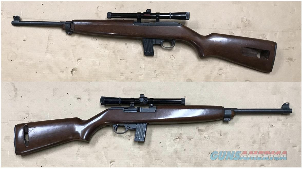 Iver Johnson (ERMA Werke) US Carbine .22 made in Germany  Guns > Rifles > Iver Johnson Rifles