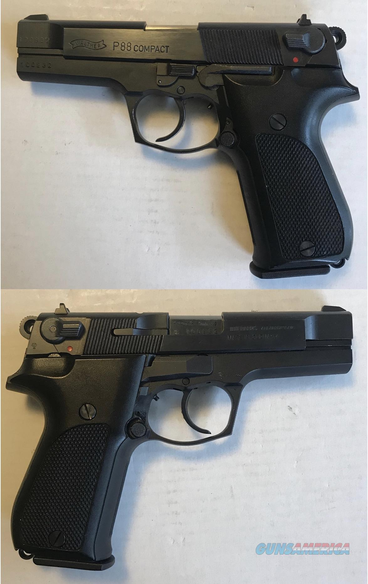 German Walther P88 Compact  Guns > Pistols > Walther Pistols > Post WWII > P5
