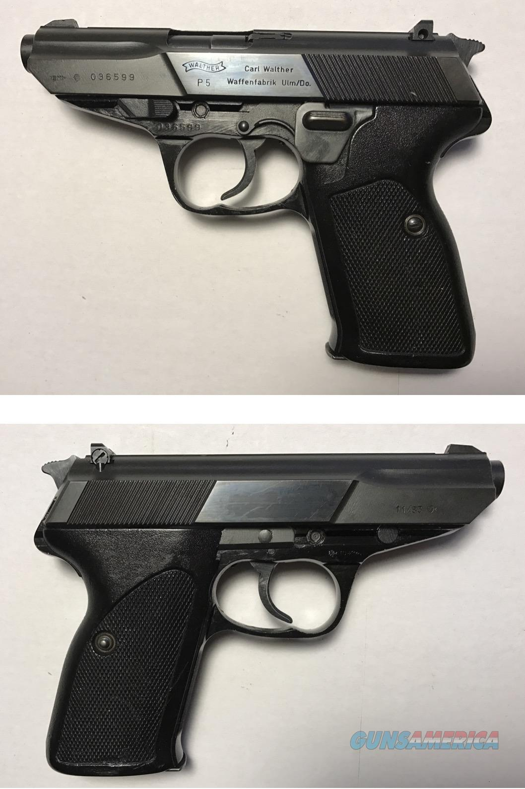 German Walther P5  Guns > Pistols > Walther Pistols > Post WWII > P5