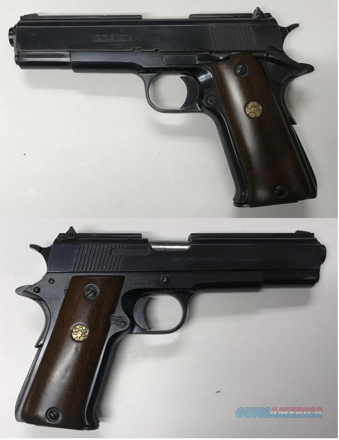 Llama 1911 style .45ACP  Guns > Pistols > 1911 Pistol Copies (non-Colt)