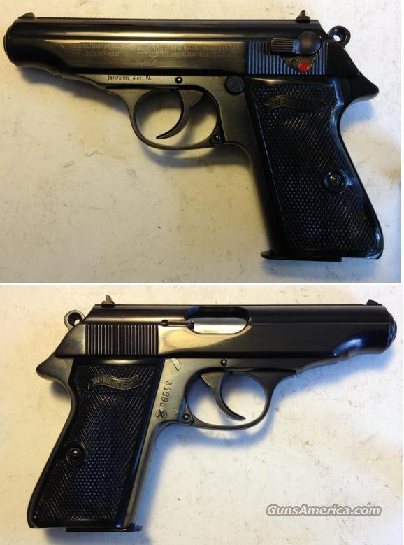 Walther / Manurhin PP 7.65mm (.32acp) C&R  Guns > Pistols > Walther Pistols > Post WWII > PPK Series