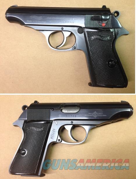 German Walther PP 9mmK .380acp  Guns > Pistols > Walther Pistols > Post WWII > PPK Series