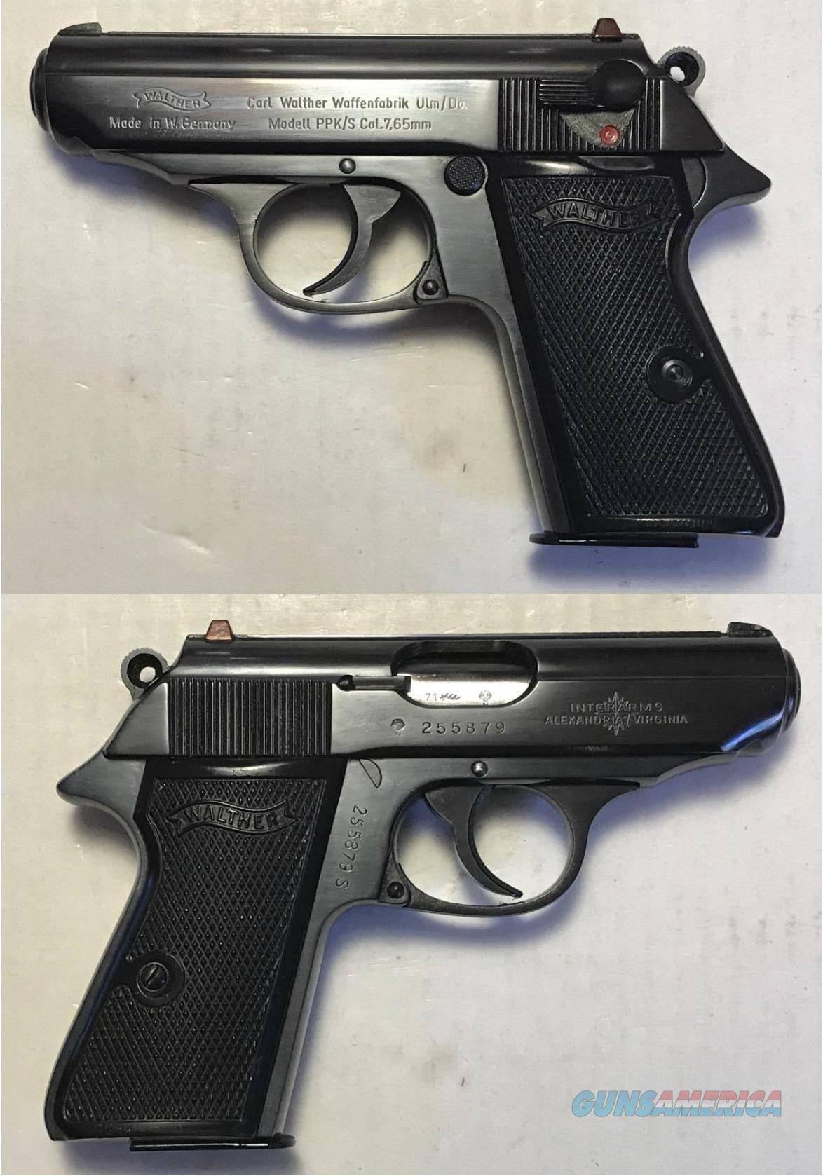 German Walther PPK/S 7.65mm (.32acp) Mfg. 1971  Guns > Pistols > Walther Pistols > Post WWII > PPK Series