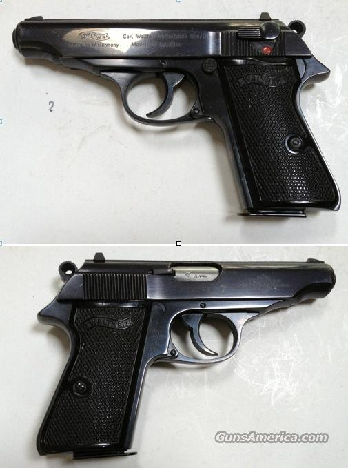 German Walther PP . 22LR  Guns > Pistols > Walther Pistols > Post WWII > PPK Series