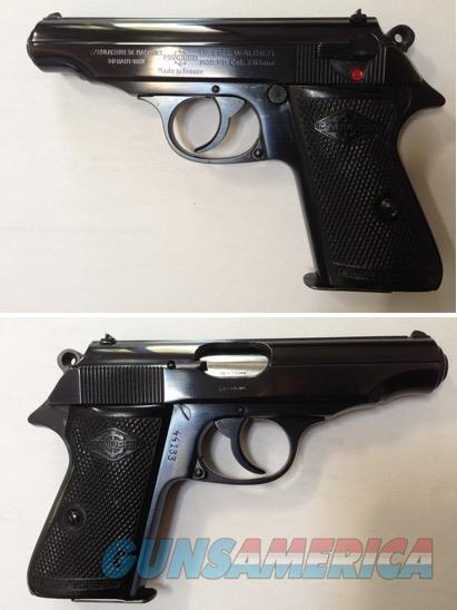 Walther / Manurhin Model PP 7.65mm .32acp C&R  Guns > Pistols > Walther Pistols > Post WWII > PPK Series