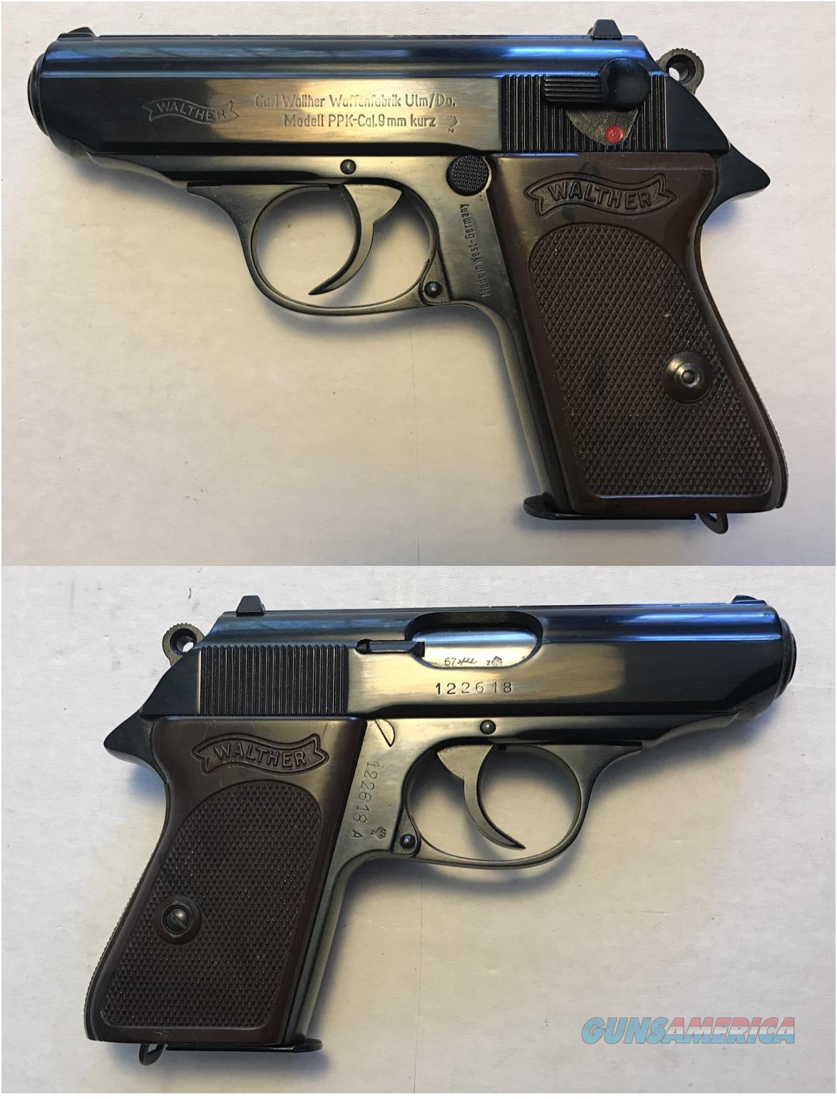 German Walther PPK 9mmK (.380) Curio & Relic Mfg. 1967  Guns > Pistols > Walther Pistols > Post WWII > PPK Series