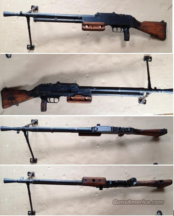 French Chatellerault FM Mle 24/29 MG  Guns > Rifles > Class 3 Rifles > Class 3 Subguns