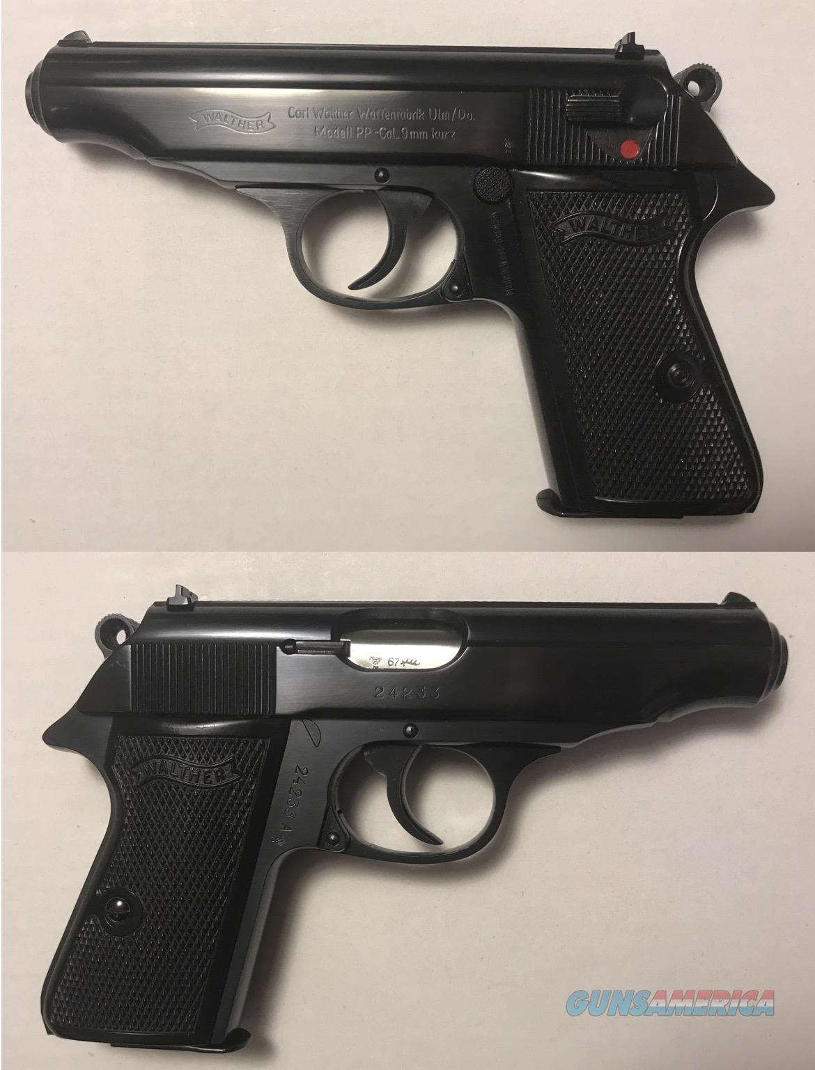 German Walther PP 9mmK .380acp Mfg. 1967 C&R  Guns > Pistols > Walther Pistols > Post WWII > PPK Series