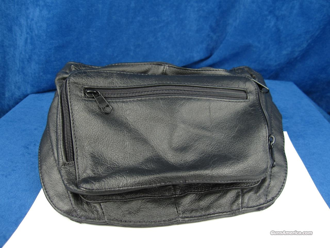 Concealed Weapon Fanny Pack - Leather  Non-Guns > Holsters and Gunleather > Concealed Carry