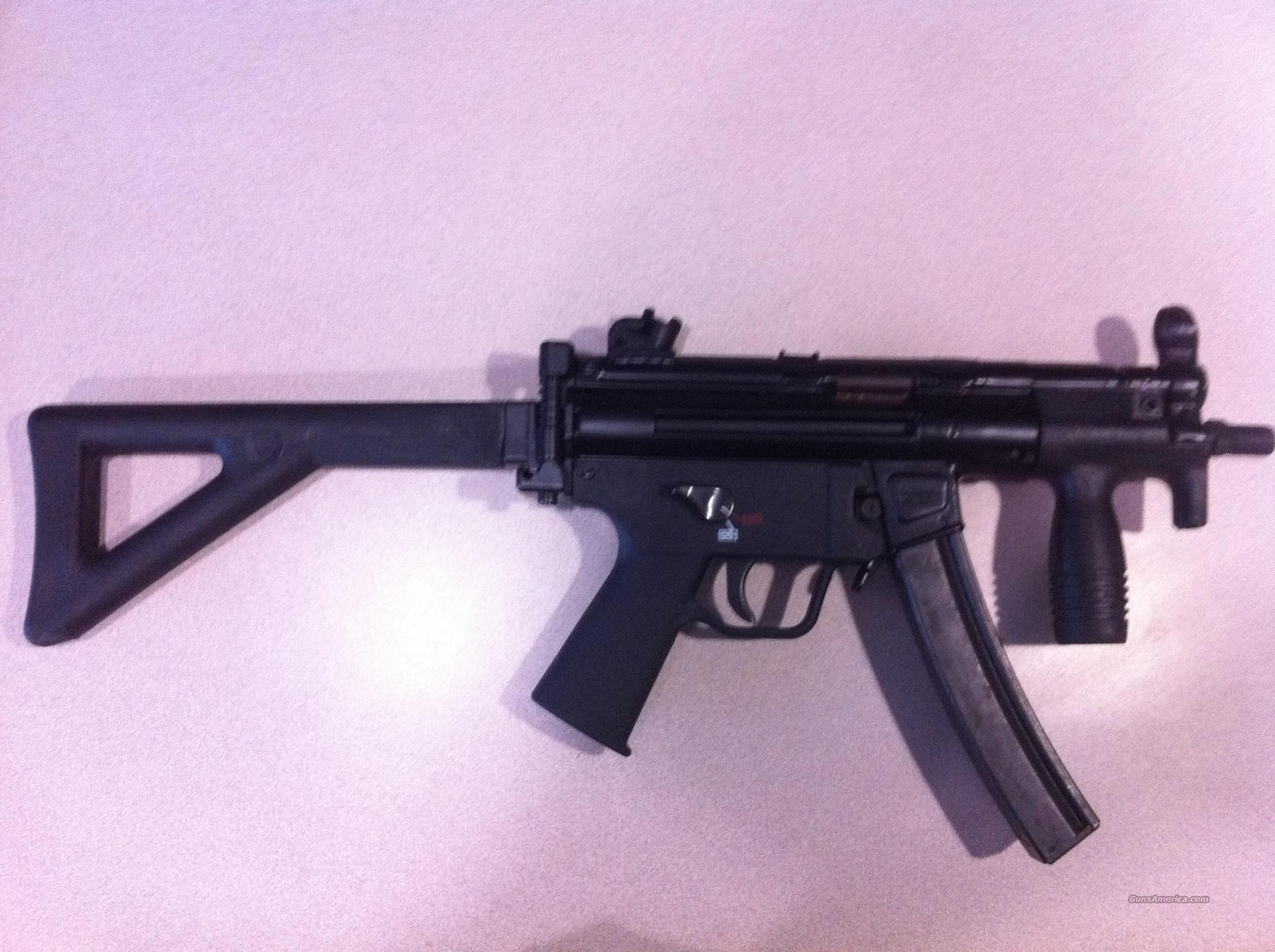 MP5 CA94  9MM HK MP5 COHARIE ARMS PDW CLONE, TACTICAL VERSION; VECTOR SW MKE, NOT LWRC, BUSHMASTER, POF, SOCOM,  Guns > Rifles > Heckler & Koch Rifles > Tactical