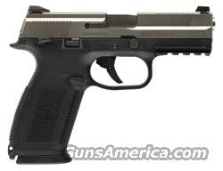 NIB FNH 9mm FNS Blk/SS  Guns > Pistols > FNH - Fabrique Nationale (FN) Pistols > FiveSeven