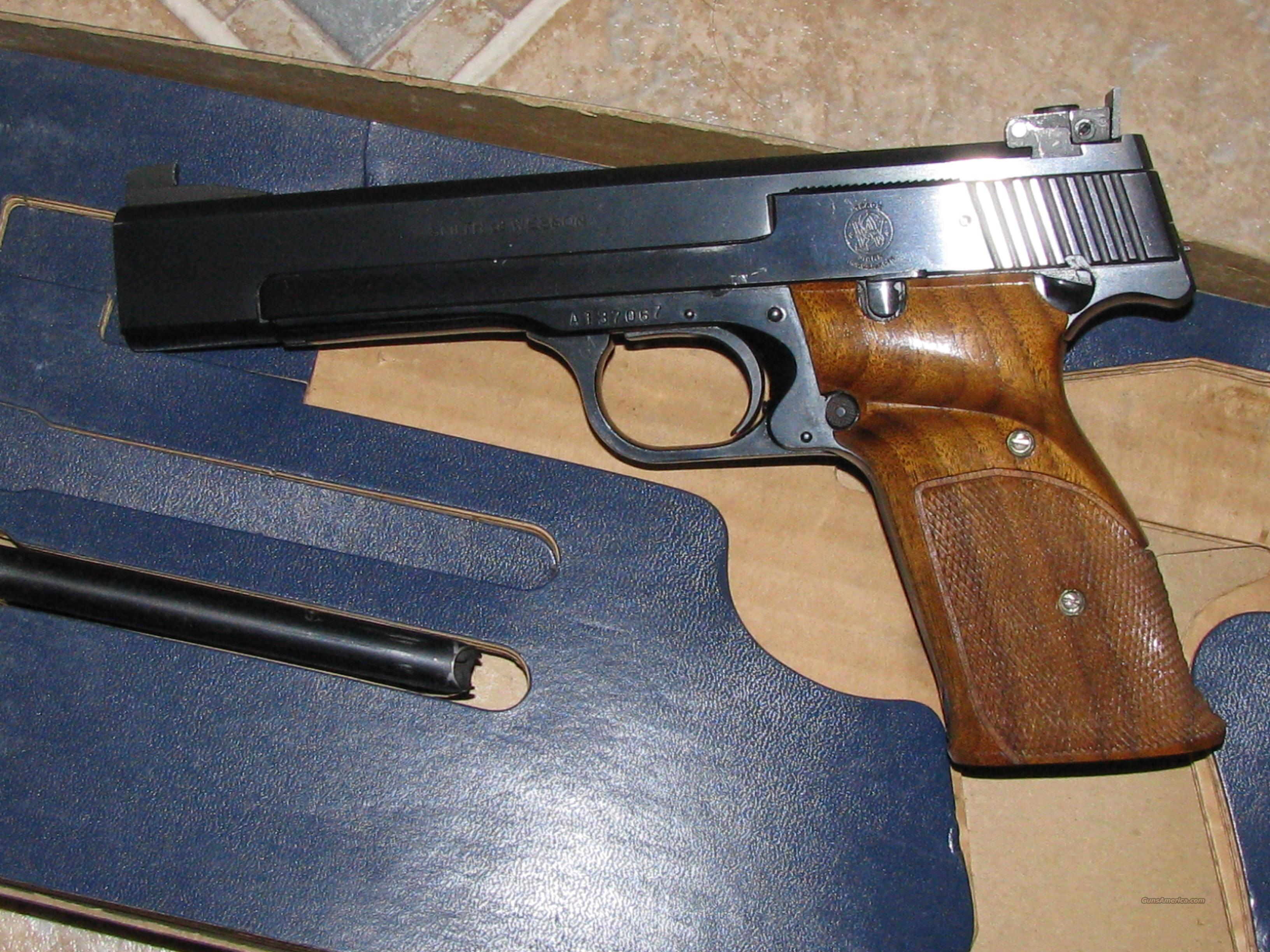 Smith Wesson Model 41  Guns > Pistols > Smith & Wesson Pistols - Autos > .22 Autos