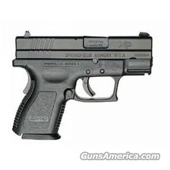 Springfield Armory Sub-Compact .40 Cal As New 13 Shot Gun  Two Guns In One.  One Magazine Makes It A Full Size Gun, The Other Makes It A Sub-Compact.   Guns > Pistols > Springfield Armory Pistols > XDs