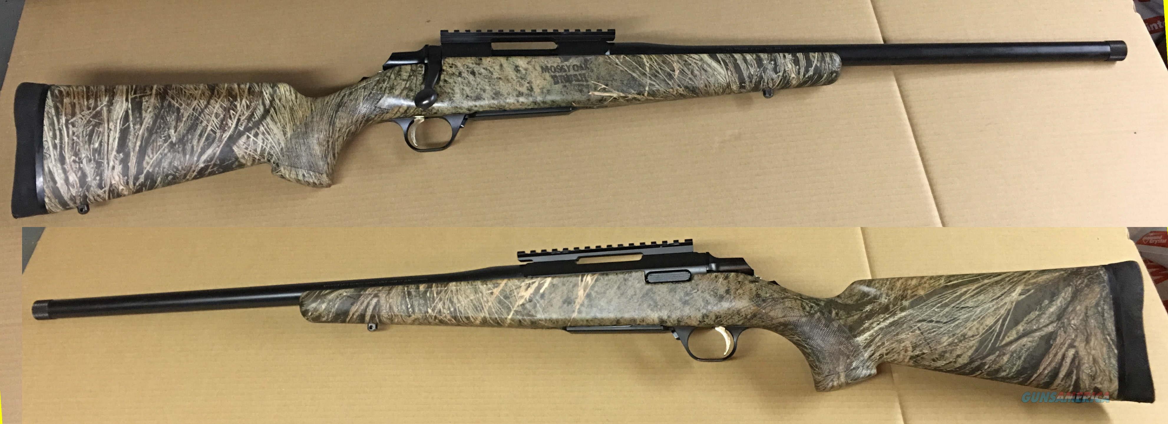 Browning A-Bolt 20 inch threaded barrel Suppressor ready.  Guns > Rifles > Browning Rifles > Bolt Action > Hunting > Blue
