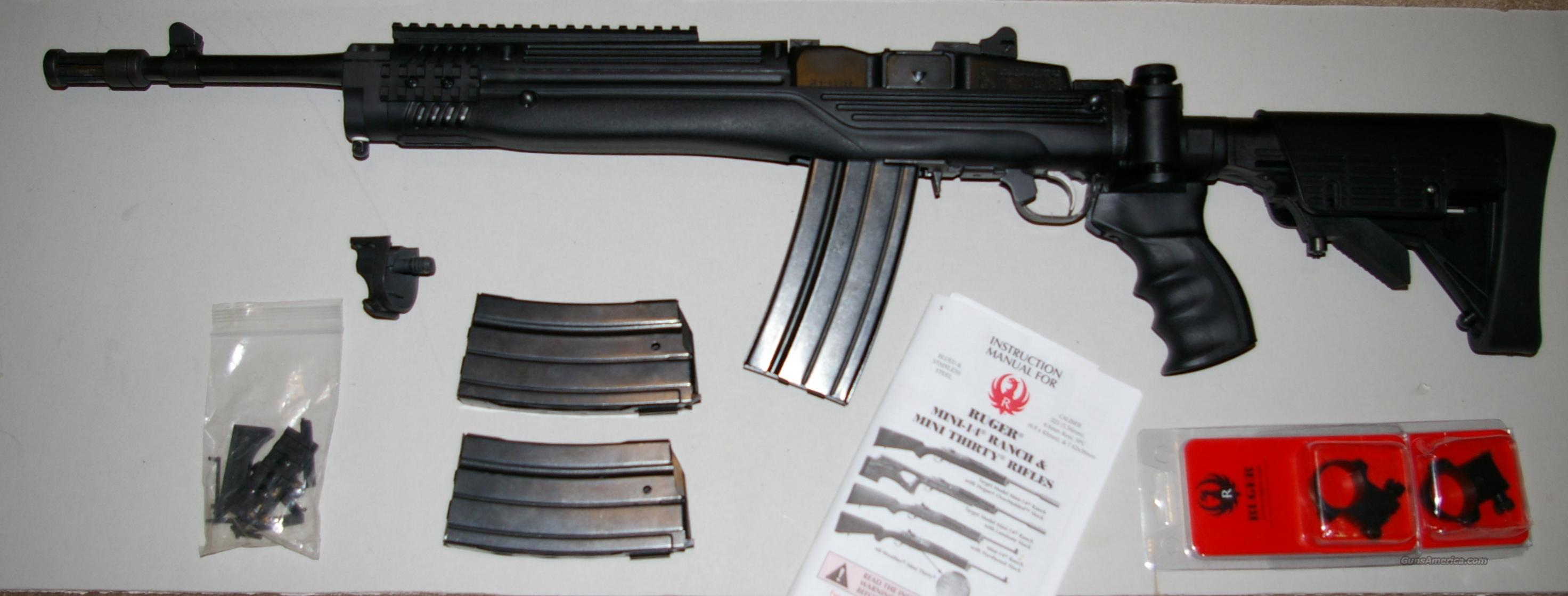 ruger mini 14 tactical 223 for sale rh gunsamerica com Ruger Mini-14 Stock Ruger Mini-14 vs AR-15