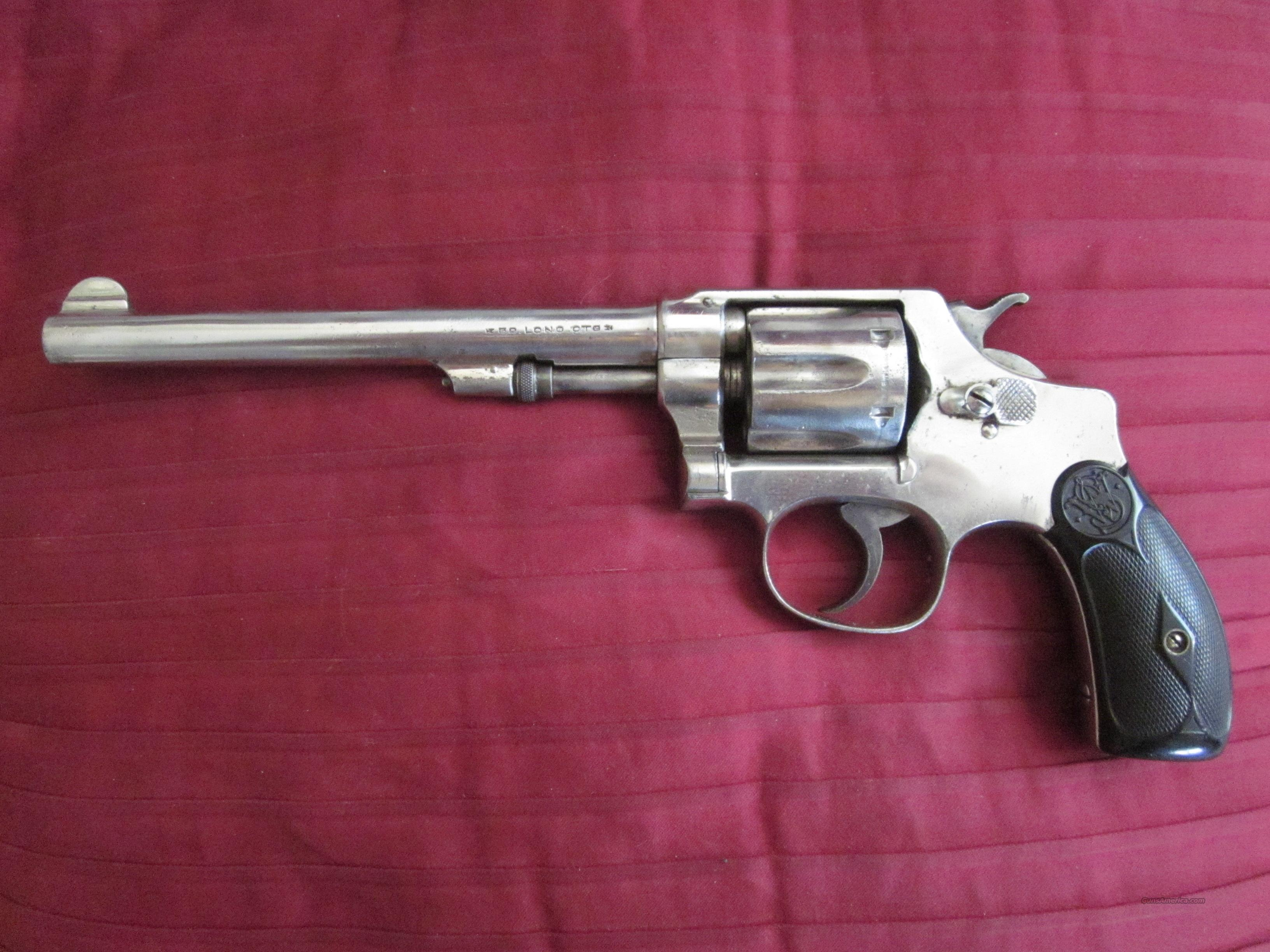 Smith & Wesson .32 long ctg.  Guns > Pistols > Antique (Pre-1899) Pistols - Ctg. Misc.