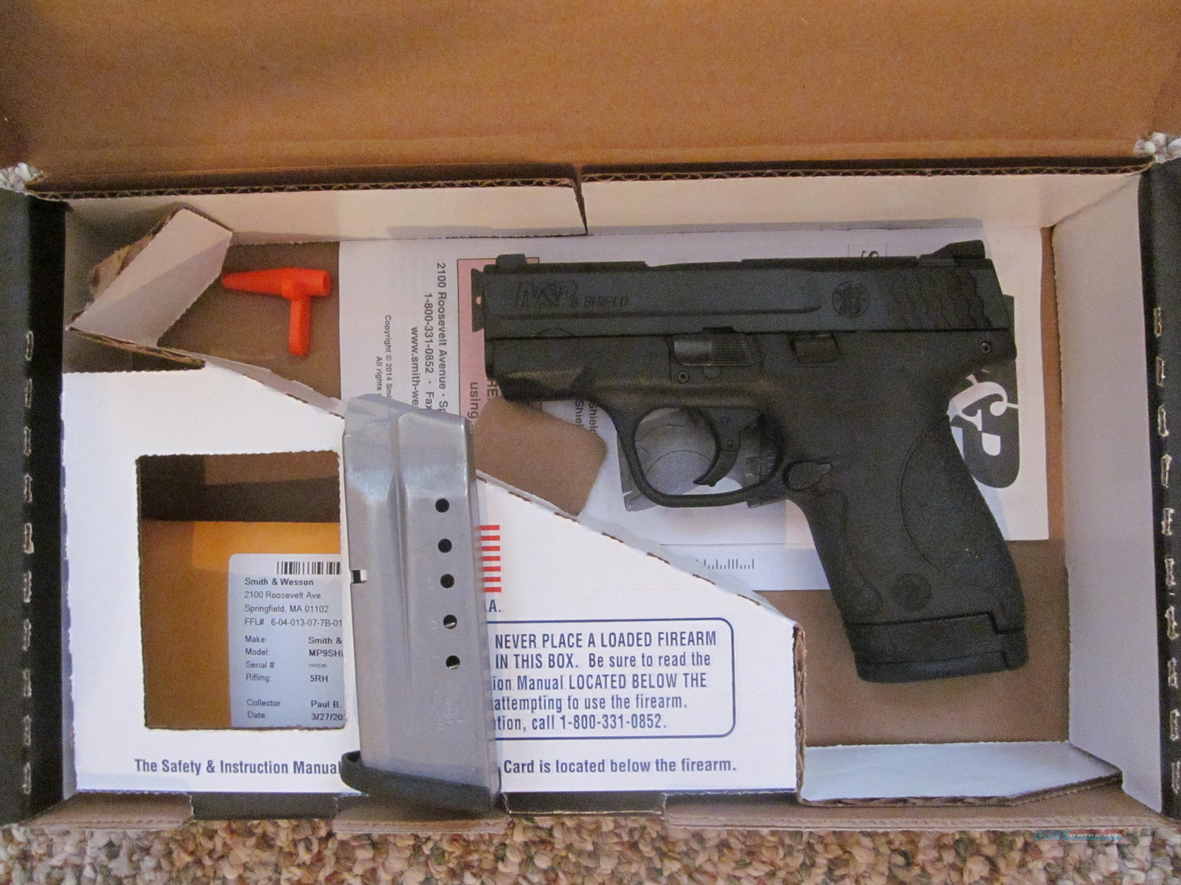 Smith and Wesson M&P Shield 9mm  Guns > Pistols > Smith & Wesson Pistols - Autos > Shield