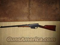 32 Remington Model 8 Semi Auto Rifle  Guns > Rifles > Remington Rifles - Modern > Other