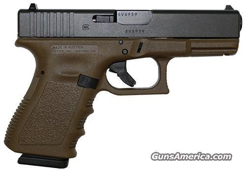 FDE Glock 19 Gen 4 Flat Dark Earth Frame!!! NEW! JUST RELEASED!   Guns > Pistols > Glock Pistols > 19