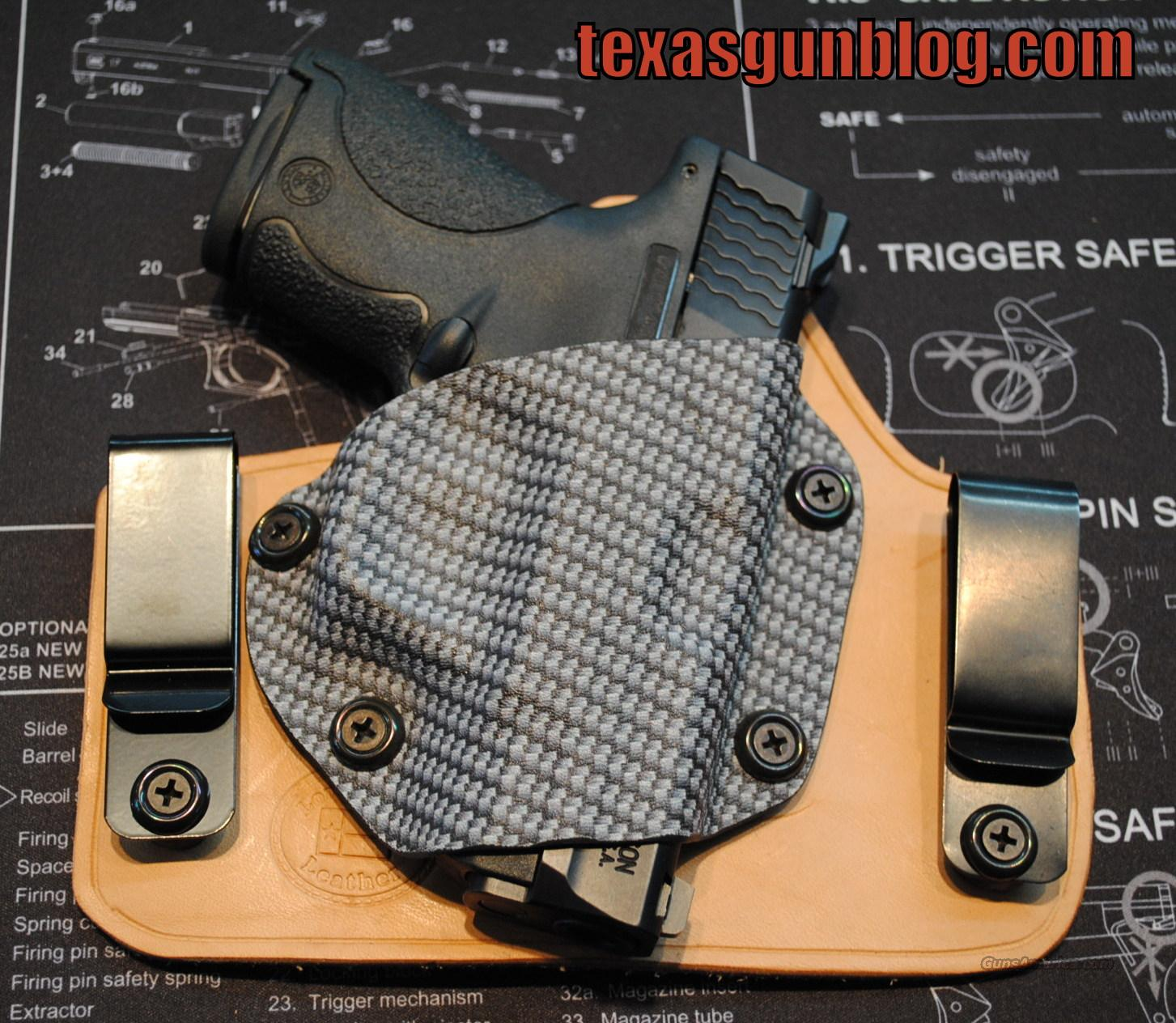 Smith and Wesson Shield IWB Holsters IN STOCK  Non-Guns > Holsters and Gunleather > Concealed Carry