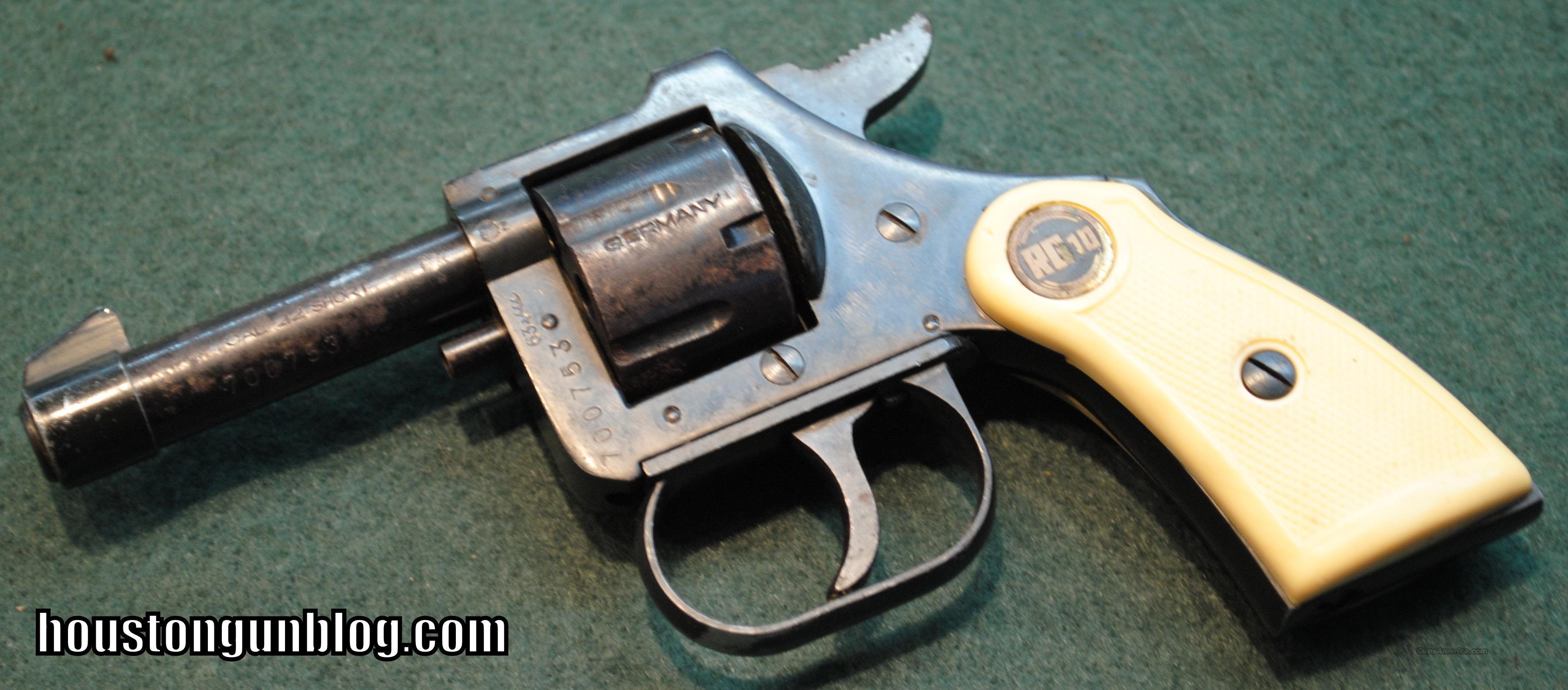 Rohm rg revolver 22 short made in germany cheap guns gt pistols gt r
