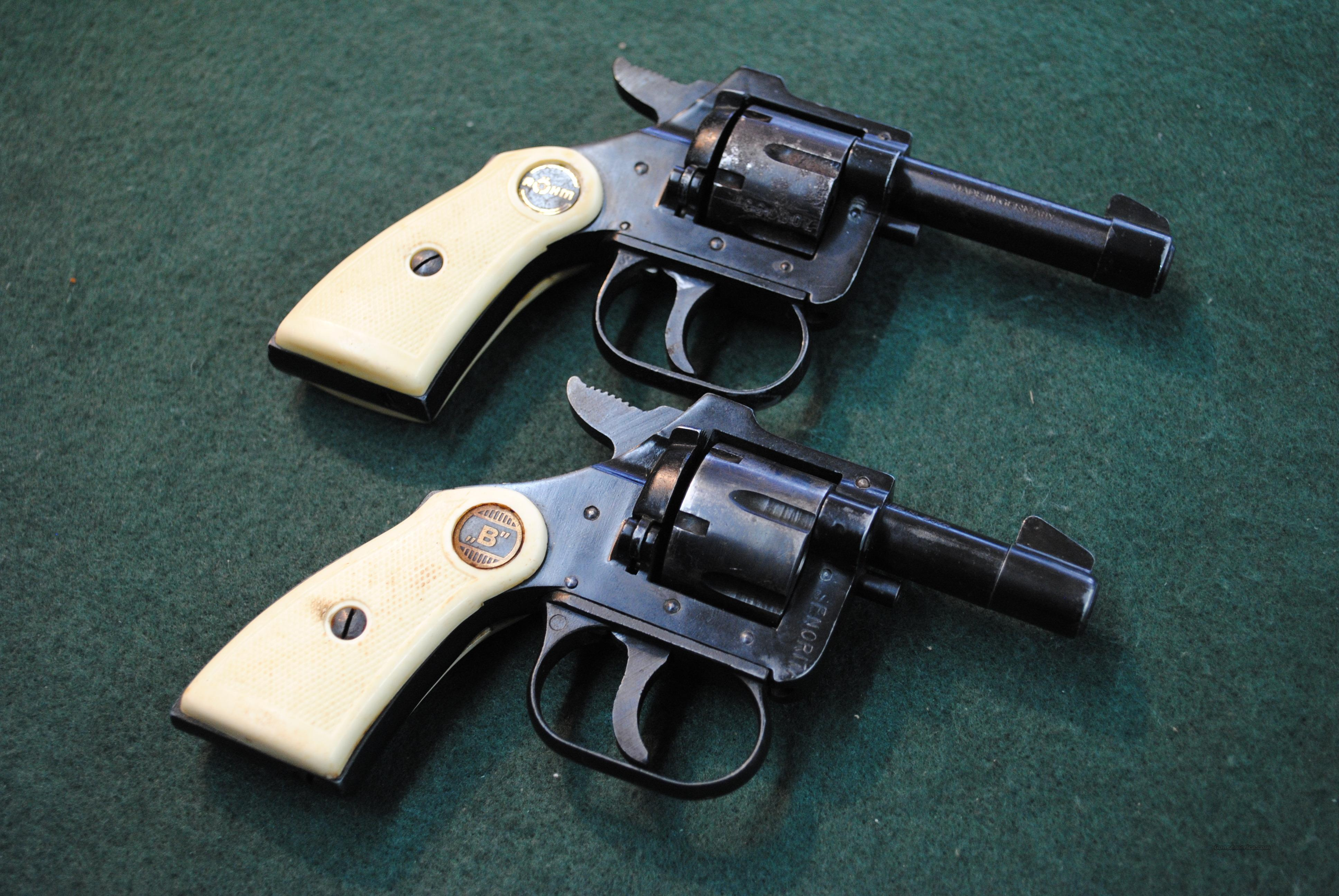 Pair of TWO Rohm 22 Short Revolvers GREAT PRICE   Guns > Pistols > Rossi Revolvers