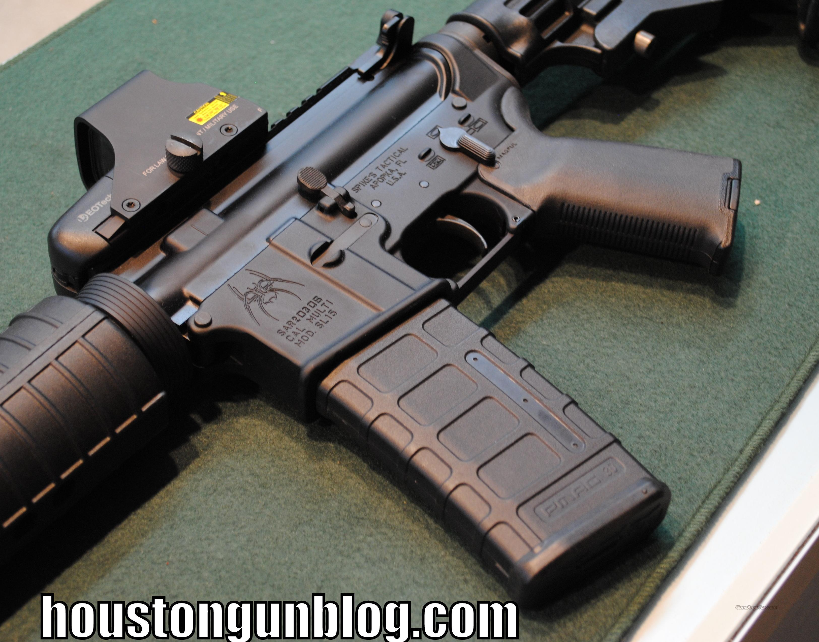 Spikes Tactical AR-15 with Del-Ton Upper and Eotech Holographic Optic  Guns > Rifles > Tactical Rifles Misc.