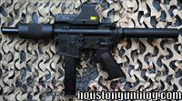 CUSTOM AR-15 Pistol 9mm HEAVY BARREL BNIB w/EOTECH  Guns > Rifles > Military Misc. Rifles US > M16/AR15