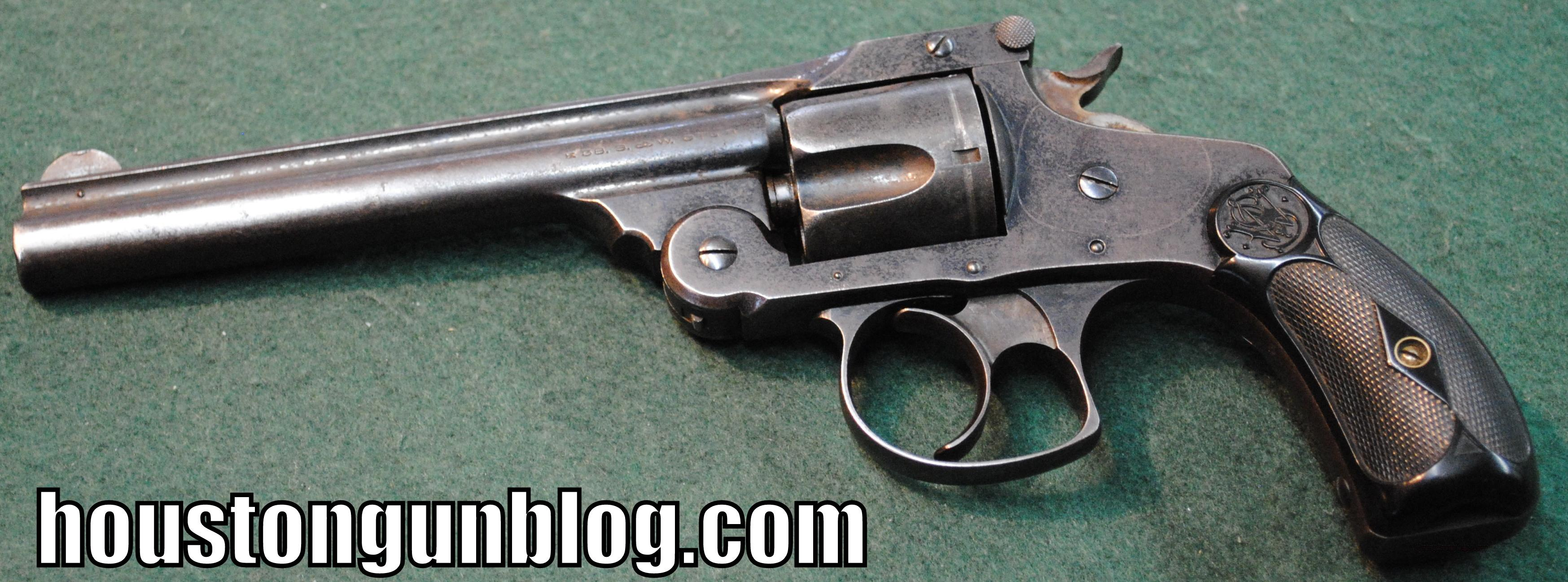 "Smith and Wesson 38SW Revolver with Scarce 6"" Barrel  Guns > Pistols > Smith & Wesson Revolvers > Pre-1945"