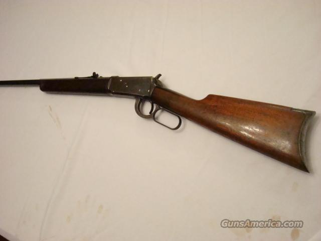 Winchester 1894 Special Order 1/2 Oct 32-40 80% 1902 YR  Guns > Rifles > Winchester Rifles - Pre-1899 Lever